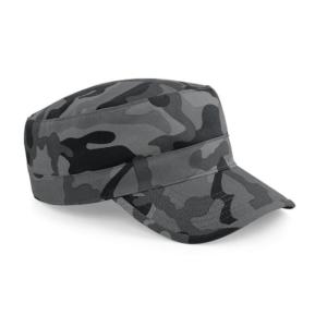keps i arméstil camouflage och i fyra olika utföranden city night arctic och swamp