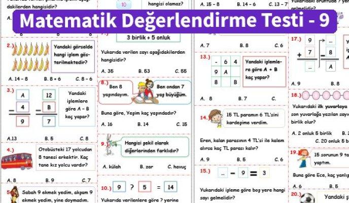 ilkokul_1_Sinif _Matematik_Degerlendirme_Testi_9_Ornek_Resim