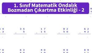 ilkokul_1_Sinif_Matematk_Ondalik_Bozmadan_Cikartma_Etkinligi_2_ornek_Resim