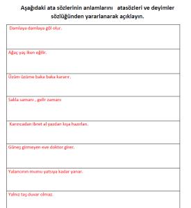 ilkokul_3_Sinif_Turkce_Atasozleri_Etkinlik_Kagidi