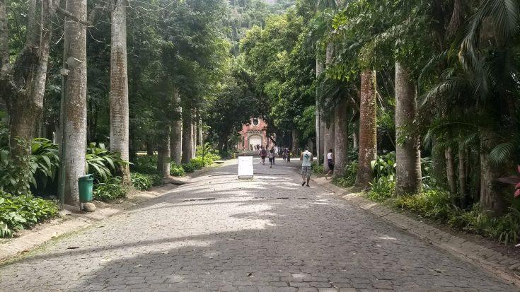 Entrada do Parque Lage