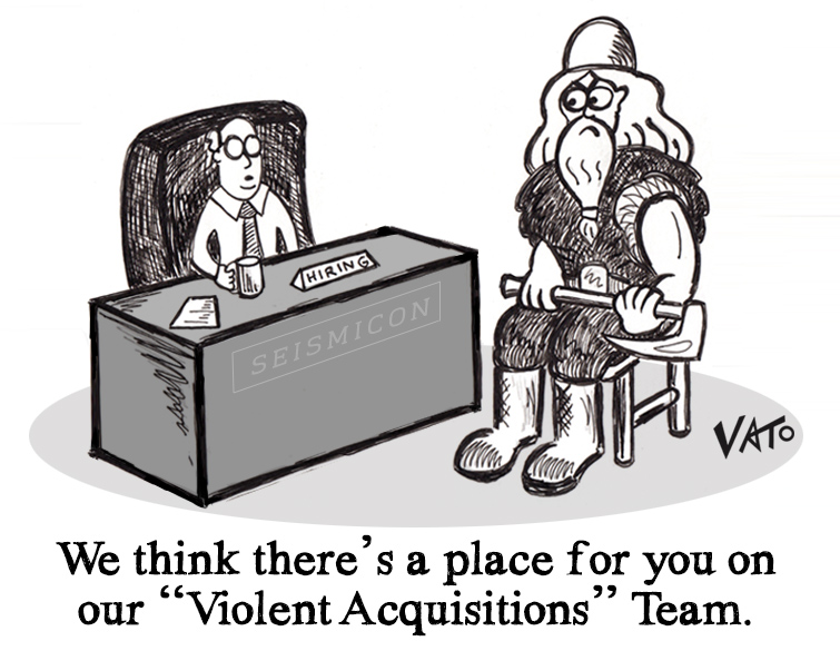 Violent Acquisitions