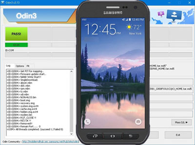 Descargar Odin para Samsung Galaxy S6 Active