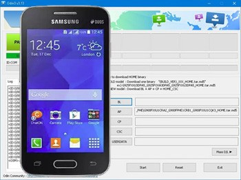 Descargar Odin3 para Samsung Galaxy Plus