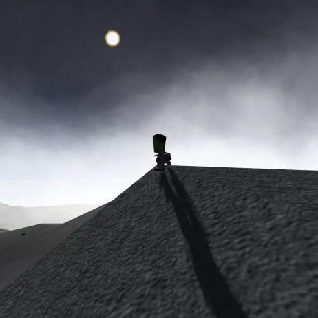 It was at this point Jeb heard his ride home slide down the mountain