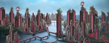 Materialist city (red variant)