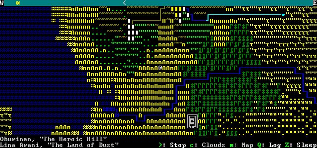 Dwarf Fortress forgoes modern graphics for extremely deep story-telling.