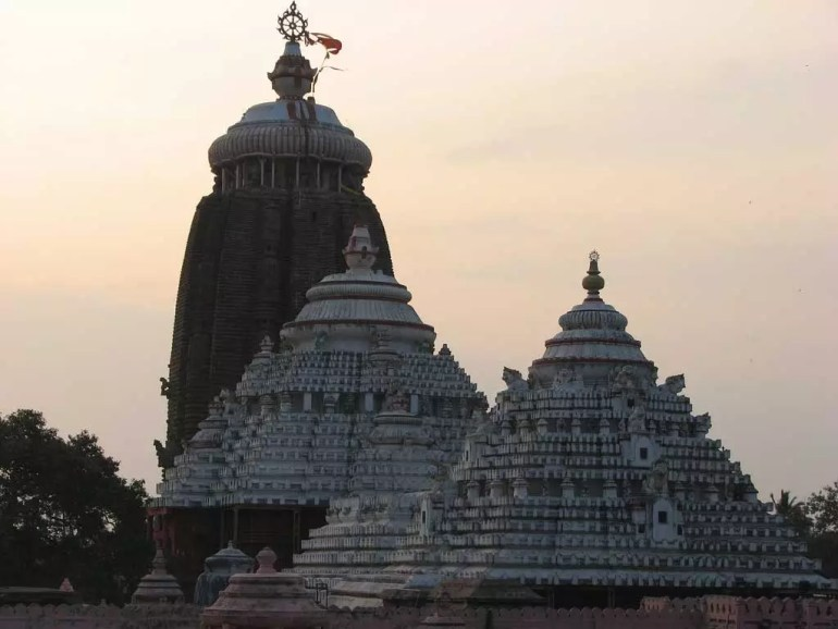 Jagannath Temple Sunset