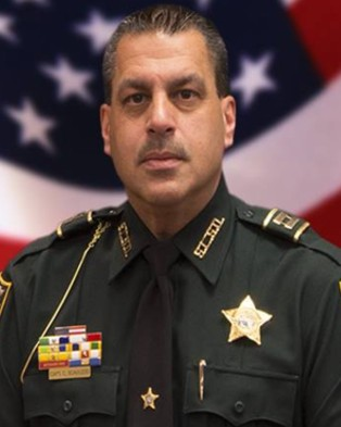Captain Charles Frank Scavuzzo, St. Lucie County Sheriff's Office, Florida