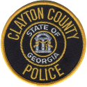 Clayton County Police Department, Georgia