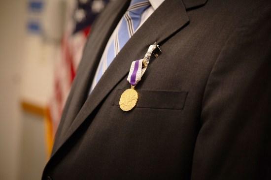 Sydney Seiler's Distinguished Civilian Service Award