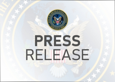 DNI Haines Statement on Senate Confirmation of Chris Fonzone as ODNI General Counsel
