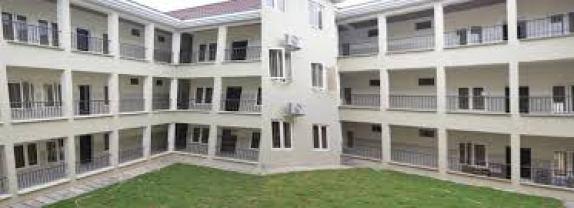 A University Hostel in Edo state Nigeria