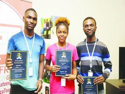 Trio of David Popoola, Eyitayo Ogunbiyi and Chukwudumebi Onwuli