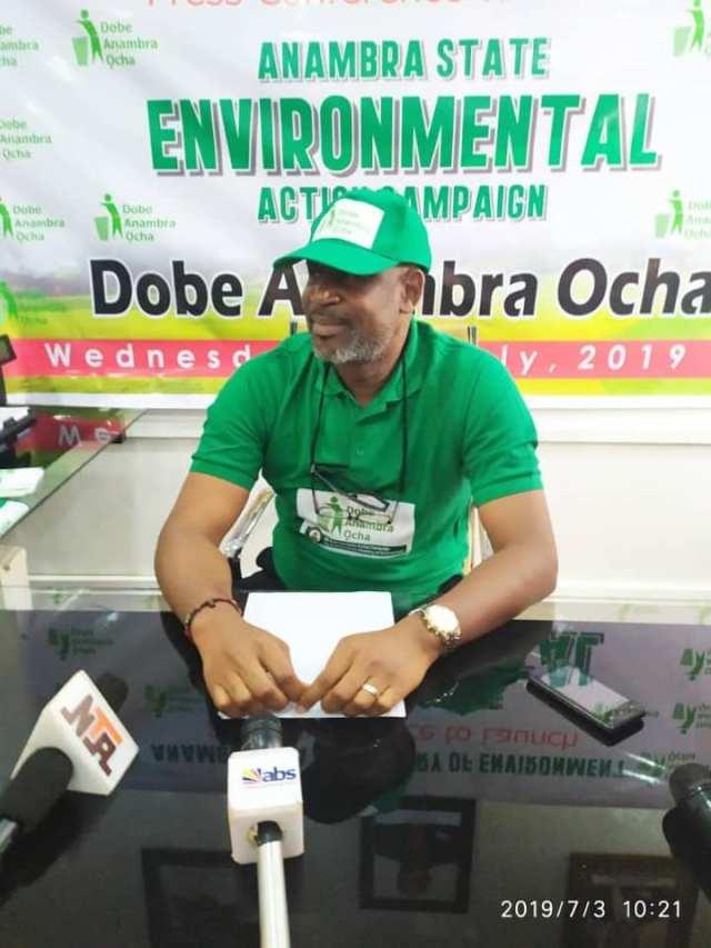 Commissioner for Environment,  Mr. Obi Nwankwo