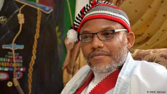 Leader of the Indigenous People of Biafra, Nnamdi Kanu