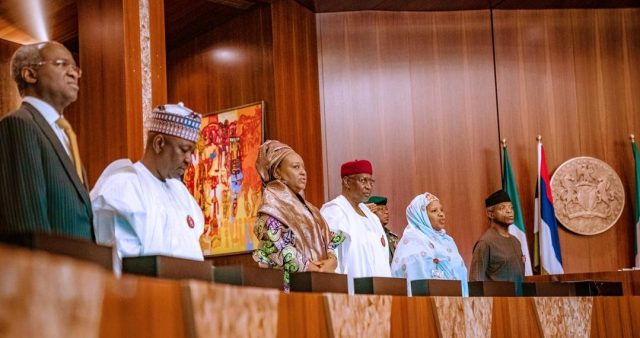 The Federal Executive Council (FEC)  meeting chaired by Vice President Yemi Osinbajo