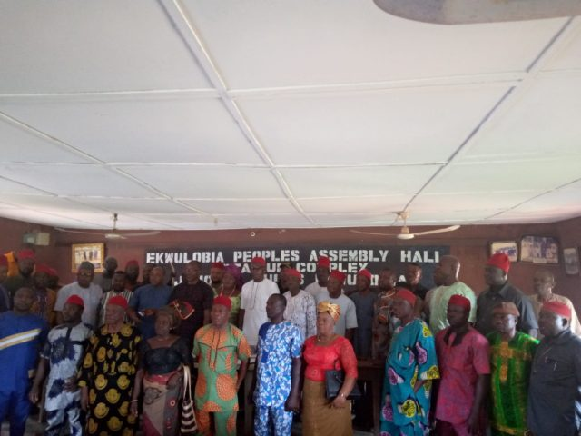 Cross section of Ekwulobia Peoples   Assembly