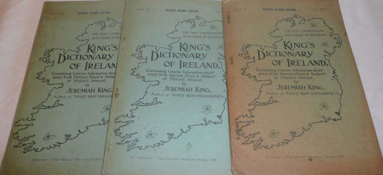 King's revised Dictionary parts 1, 2 & 3