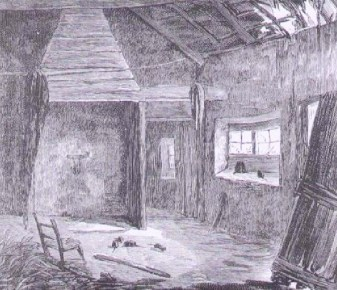3 Graphic Inside an evicted cabin in Castleisland 1882