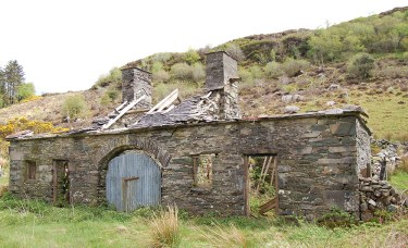 6 Ruined lodge The Marshalls were associated with a number of properties in Kerry including Clydagh near Glenflesk