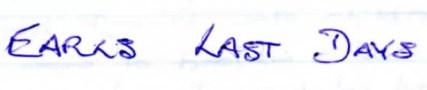 4-earls-last-days