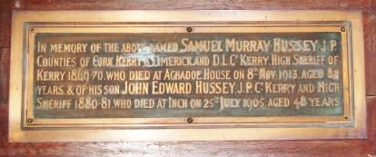 7-imemorial-to-john-edward-hussey-in-dingle-church-of-ireland
