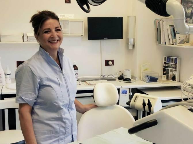 Delia Corrado, dentista