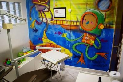 Sala da odontopediatria