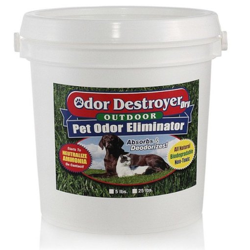 Odor Destroyer Dry - Outdoor pet odor remover - 5#