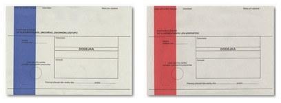Význam barevných pruhů na obálkách