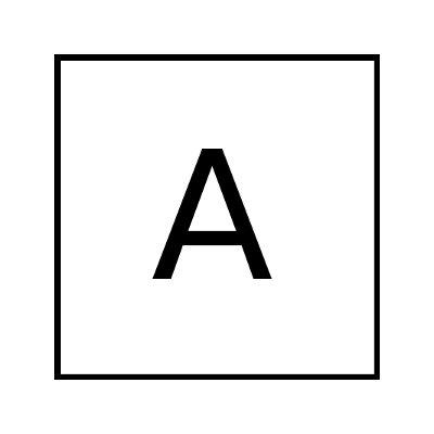 Co znamená velké písmeno A na nákladních autech?