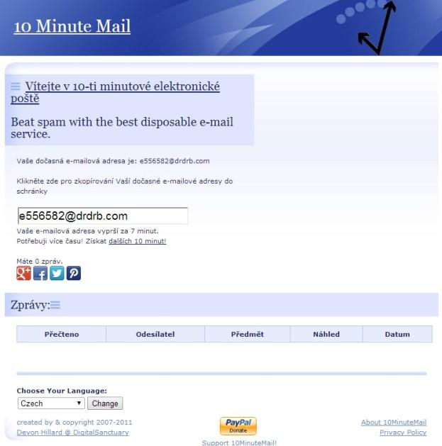 Jak vytvořit dočasnou emailovou schránku?