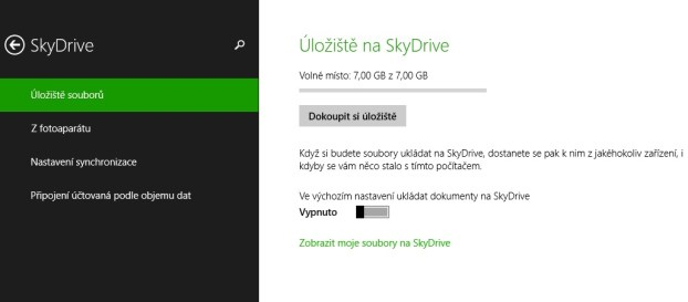 Jak vypnout SkyDrive?