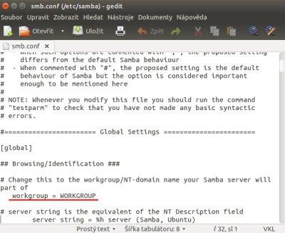 nazev pc v Ubuntu