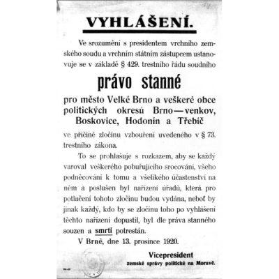 Vyhlášení stranného práva