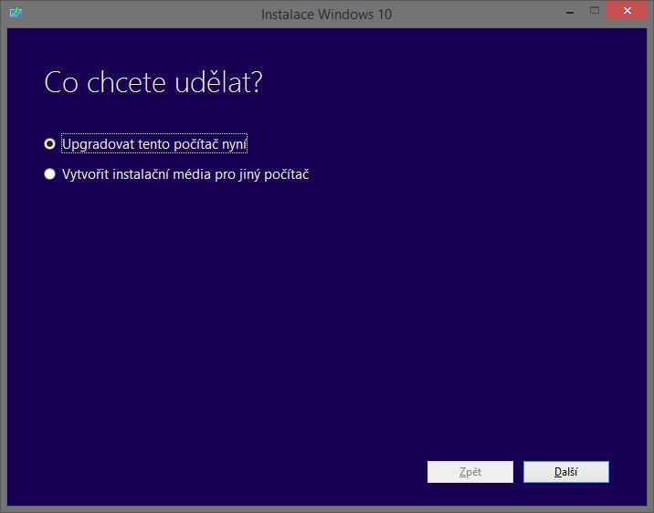 Jak stáhnout Windows 10