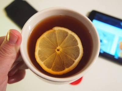 Čaj s citrónem