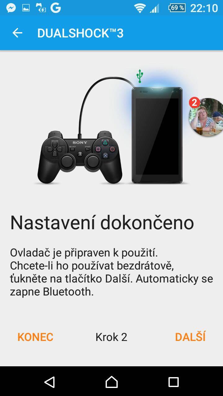 Jak propojit mobil Sony s ovladačem Dualshock?