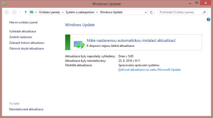 Jak opravit Windows Update?