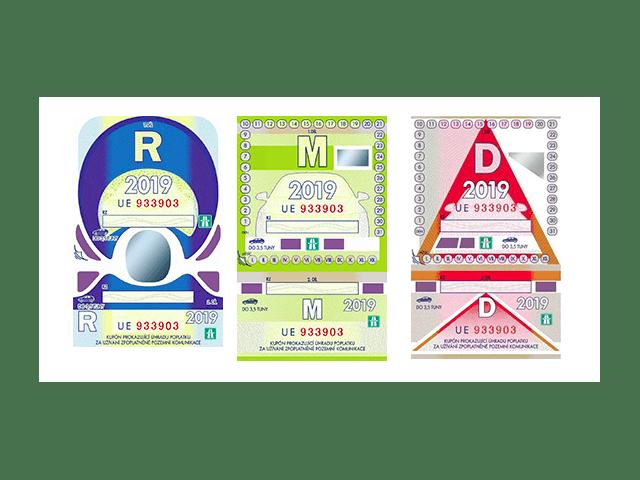 Dálniční známky na rok 2019 – kolik stojí a kde je koupit?