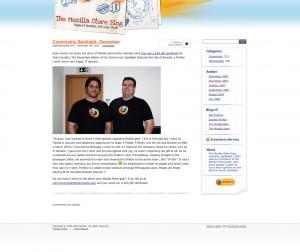 Mozilla Store December