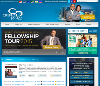 Creflo Dollar Website