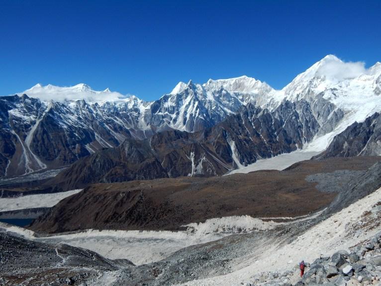 Widok na Masyw Annapurny spod Przełęczy