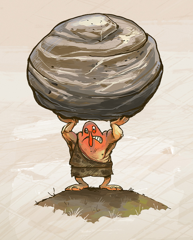 great-strength-illustration