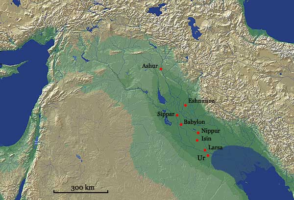 Map showing Ur in Mesopotamia.jpg