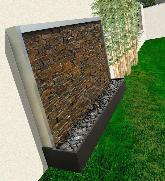 mur d eau exterieur odzo