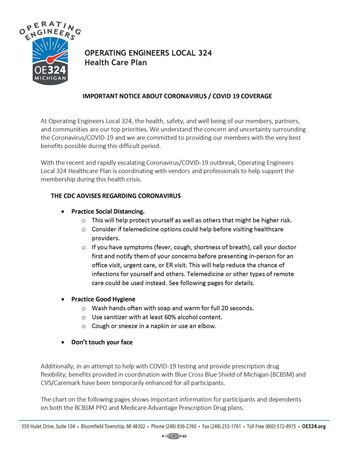 OE 324 | Operating Engineers 324 Health Care Plan ...