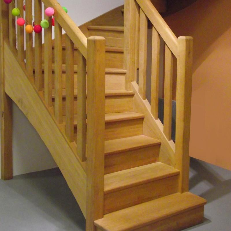 escalier en bois sur mesure pas cher
