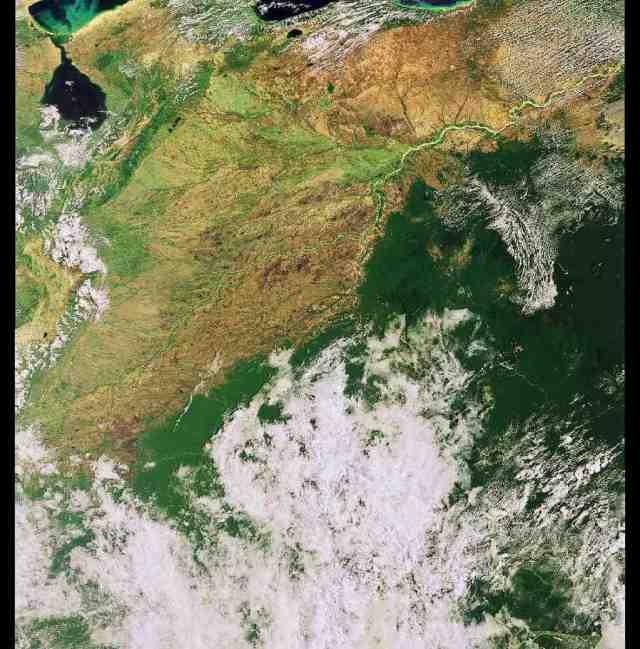 Colombia satelite